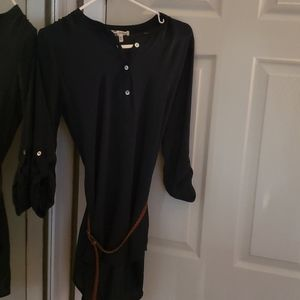 Navy blue blouse never worn